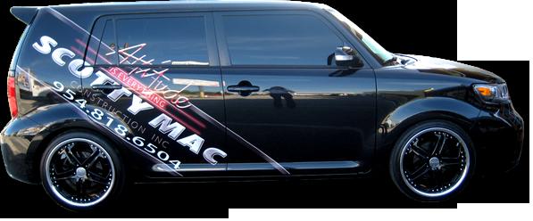 Vehicle & Car Wrap, Boat wrap, Fort Lauderdale, Pompano